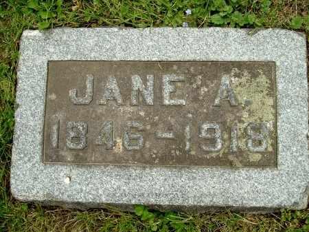 GOULD HISCOCK, JANE A - Calhoun County, Michigan | JANE A GOULD HISCOCK - Michigan Gravestone Photos