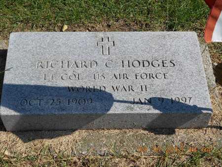 HODGES, LT. COL. RICHARD C. - Calhoun County, Michigan   LT. COL. RICHARD C. HODGES - Michigan Gravestone Photos