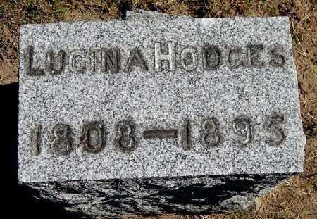 HODGES, LUCINA - Calhoun County, Michigan | LUCINA HODGES - Michigan Gravestone Photos