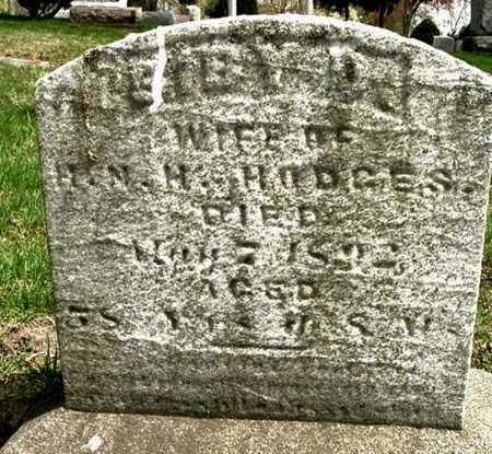 "HODGES, SIBRED D. ""SIBY"" - Calhoun County, Michigan | SIBRED D. ""SIBY"" HODGES - Michigan Gravestone Photos"