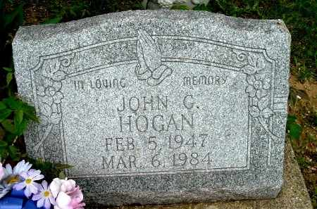 HOGAN, JOHN G - Calhoun County, Michigan | JOHN G HOGAN - Michigan Gravestone Photos