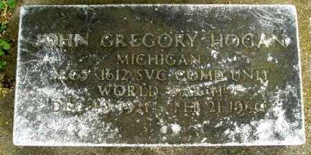 HOGAN, JOHN GREGORY - Calhoun County, Michigan | JOHN GREGORY HOGAN - Michigan Gravestone Photos