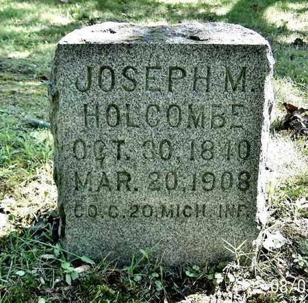 HOLCOMBE, JOSEPH - Calhoun County, Michigan | JOSEPH HOLCOMBE - Michigan Gravestone Photos
