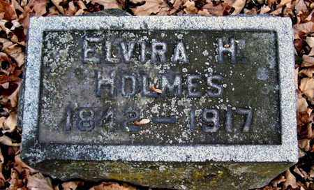 HOLMES, ELVIRA - Calhoun County, Michigan | ELVIRA HOLMES - Michigan Gravestone Photos