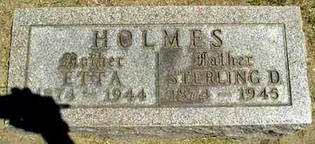HOLMES, ETTA - Calhoun County, Michigan | ETTA HOLMES - Michigan Gravestone Photos