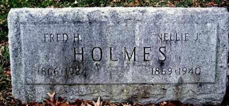 HOLMES, NELLIE J - Calhoun County, Michigan | NELLIE J HOLMES - Michigan Gravestone Photos