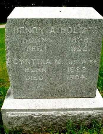 HOLMES, CYNTHIA - Calhoun County, Michigan | CYNTHIA HOLMES - Michigan Gravestone Photos