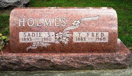 HOLMES, SADIE S. - Calhoun County, Michigan | SADIE S. HOLMES - Michigan Gravestone Photos