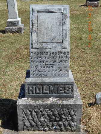 HOLMES, THOMAS - Calhoun County, Michigan | THOMAS HOLMES - Michigan Gravestone Photos