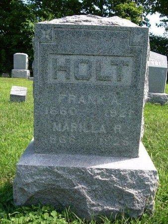 HOLT, FRANK A. - Calhoun County, Michigan | FRANK A. HOLT - Michigan Gravestone Photos