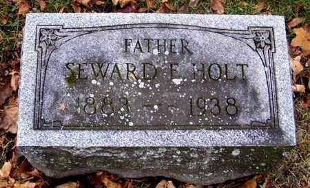 HOLT, SEWARD - Calhoun County, Michigan | SEWARD HOLT - Michigan Gravestone Photos