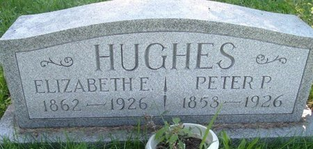 HUGHES, ELIZABETH E. - Calhoun County, Michigan | ELIZABETH E. HUGHES - Michigan Gravestone Photos