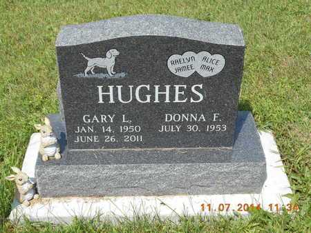 HUGHES, DONNA F. - Calhoun County, Michigan | DONNA F. HUGHES - Michigan Gravestone Photos