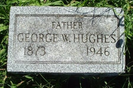 HUGHES, GEORGE W. - Calhoun County, Michigan | GEORGE W. HUGHES - Michigan Gravestone Photos