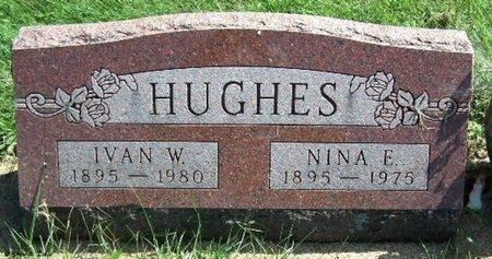 HUGHES, NINA E - Calhoun County, Michigan | NINA E HUGHES - Michigan Gravestone Photos