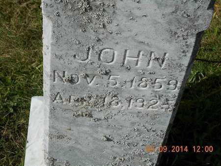 HUGHES, JOHN - Calhoun County, Michigan   JOHN HUGHES - Michigan Gravestone Photos