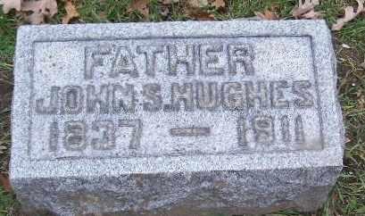 HUGHES, JOHN S - Calhoun County, Michigan   JOHN S HUGHES - Michigan Gravestone Photos