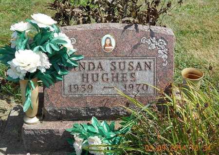 HUGHES, LINDA SUSAN - Calhoun County, Michigan   LINDA SUSAN HUGHES - Michigan Gravestone Photos