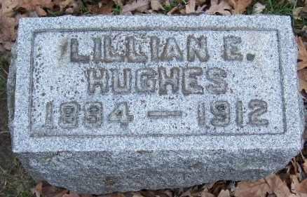 HUGHES, LILLIAN E - Calhoun County, Michigan | LILLIAN E HUGHES - Michigan Gravestone Photos