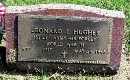 HUGHES, LEONARD I - Calhoun County, Michigan | LEONARD I HUGHES - Michigan Gravestone Photos