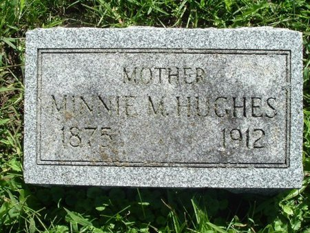 HUGHES, MINNIE M. - Calhoun County, Michigan | MINNIE M. HUGHES - Michigan Gravestone Photos