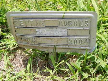 HUGHES, NETTIE - Calhoun County, Michigan | NETTIE HUGHES - Michigan Gravestone Photos