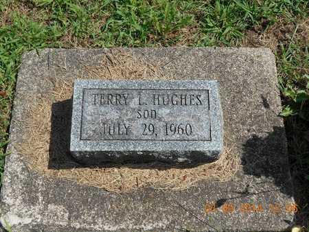 HUGHES, TERRY L. - Calhoun County, Michigan | TERRY L. HUGHES - Michigan Gravestone Photos