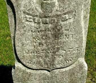 HUNT, CORA - Calhoun County, Michigan | CORA HUNT - Michigan Gravestone Photos