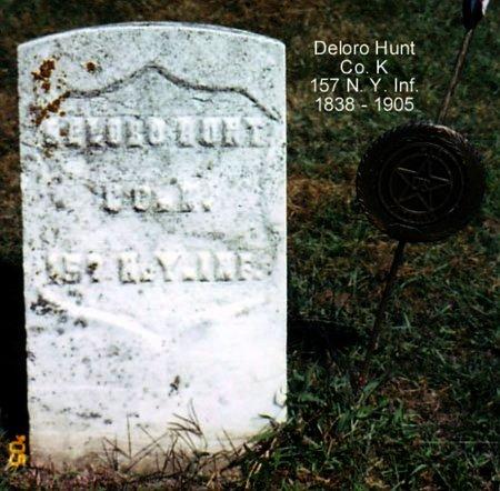 HUNT, DELORO - Calhoun County, Michigan | DELORO HUNT - Michigan Gravestone Photos