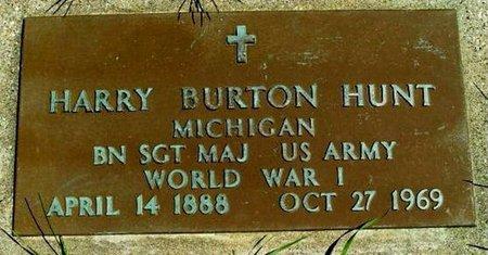 HUNT, HARRY B. - Calhoun County, Michigan | HARRY B. HUNT - Michigan Gravestone Photos