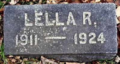 HUNT, LELLA R - Calhoun County, Michigan | LELLA R HUNT - Michigan Gravestone Photos