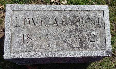 HUNT, LOVICA - Calhoun County, Michigan | LOVICA HUNT - Michigan Gravestone Photos