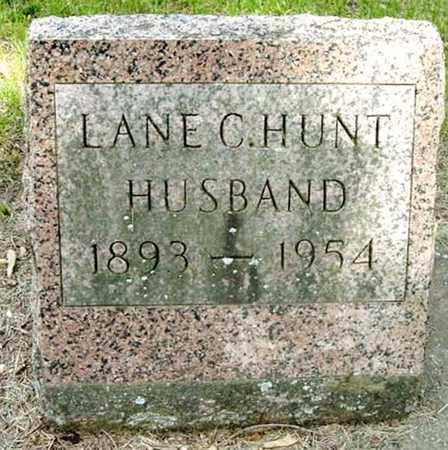 HUNT, LANE C - Calhoun County, Michigan | LANE C HUNT - Michigan Gravestone Photos