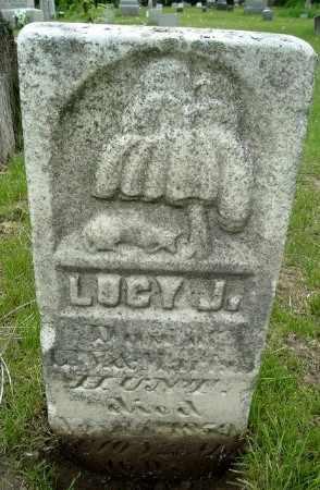 HUNT, LUCY J - Calhoun County, Michigan   LUCY J HUNT - Michigan Gravestone Photos