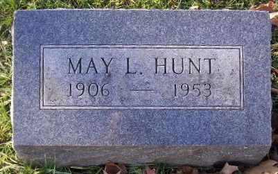 HUNT, MAY L - Calhoun County, Michigan | MAY L HUNT - Michigan Gravestone Photos