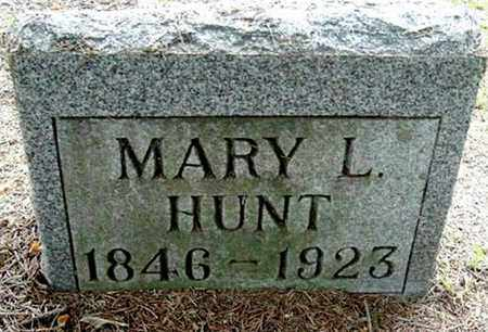 HUNT, MARY L - Calhoun County, Michigan | MARY L HUNT - Michigan Gravestone Photos
