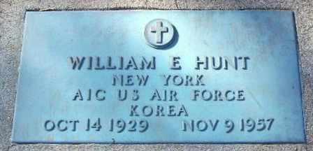 HUNT, WILLIAM E - Calhoun County, Michigan | WILLIAM E HUNT - Michigan Gravestone Photos