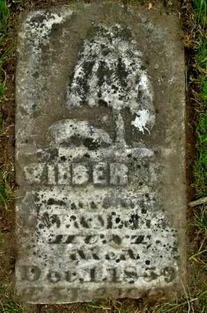 HUNT, WILBER - Calhoun County, Michigan | WILBER HUNT - Michigan Gravestone Photos