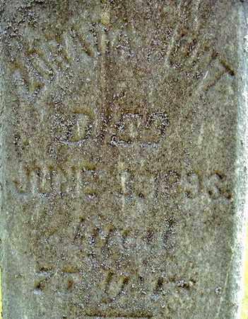 HUNT, ZORADA - Calhoun County, Michigan | ZORADA HUNT - Michigan Gravestone Photos