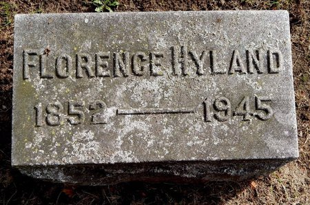 HYLAND, FLORENCE - Calhoun County, Michigan | FLORENCE HYLAND - Michigan Gravestone Photos