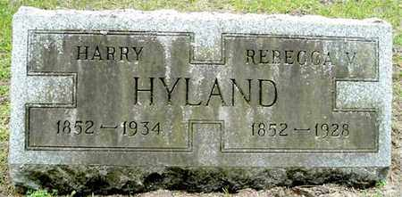 HYLAND, HARRY - Calhoun County, Michigan | HARRY HYLAND - Michigan Gravestone Photos
