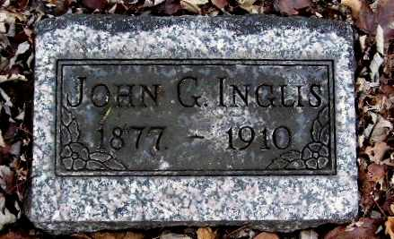 INGLIS, JOHN G - Calhoun County, Michigan | JOHN G INGLIS - Michigan Gravestone Photos