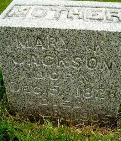 JACKSON, MARY - Calhoun County, Michigan   MARY JACKSON - Michigan Gravestone Photos