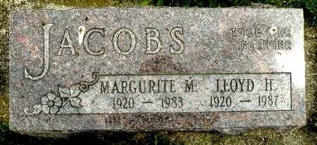 JACOBS, MARGURITE M - Calhoun County, Michigan | MARGURITE M JACOBS - Michigan Gravestone Photos