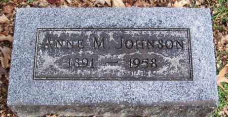 JOHNSON, ANNIE M - Calhoun County, Michigan | ANNIE M JOHNSON - Michigan Gravestone Photos