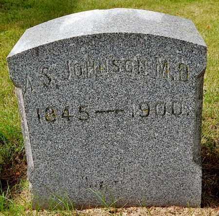 JOHNSON, AUSTIN S - Calhoun County, Michigan | AUSTIN S JOHNSON - Michigan Gravestone Photos