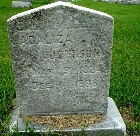 JOHNSON, ADALIZA - Calhoun County, Michigan | ADALIZA JOHNSON - Michigan Gravestone Photos