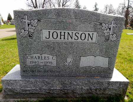 JOHNSON, CHARLES C - Calhoun County, Michigan   CHARLES C JOHNSON - Michigan Gravestone Photos
