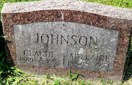 JOHNSON, ADELAIDE - Calhoun County, Michigan | ADELAIDE JOHNSON - Michigan Gravestone Photos