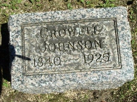 JOHNSON, CROWELL - Calhoun County, Michigan | CROWELL JOHNSON - Michigan Gravestone Photos